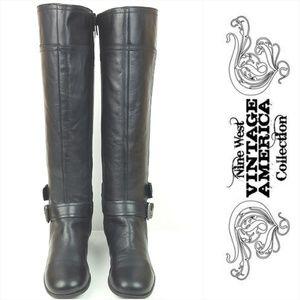 NINE WEST|Black American Vintage Collection Boots